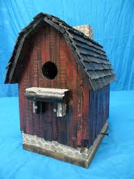 Rustic Birdhouses Vintage Barn Birdhouse Rustic Barn Antique Barn Old Barn