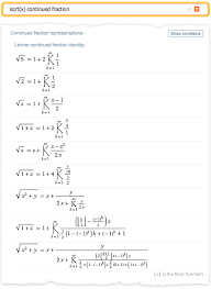 the wolfram function site and wolfram alpha generate relations between functions