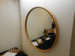 wood wall mirrors. Large Round Wooden Wall Mirror Designs Wood Mirrors