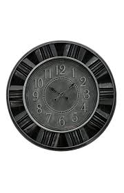 image for wall clock dark grey from economax