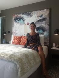 Hotel Eastlund Opens to Rave Reviews of Art  Studio Art Direct