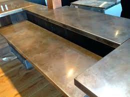 stainless counter tops volcanic stainless stainless steel countertops cost vs granite