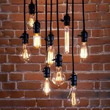 e27 bulbs edison retro pendant