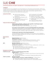 environmental science resume template resume cover letter science newsound co sample biotech cover aploon