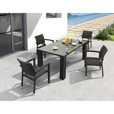 zuo modern outdoor furniture brilliant zuo outdoor table zuo boracay espresso patio dining chair