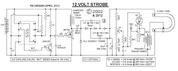 12 volt strobe strobe schematic