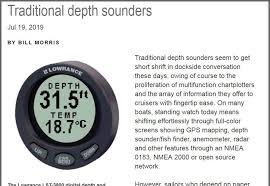Sounders Depth Chart Dedicated Depth Display Nmea 2000 The Best Way Panbo