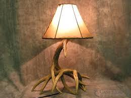 stag horn lamp whitetail deer 2 antler table lamp cast horn designs with 4 stag horn stag horn lamp