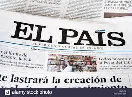 El Pais ist Spaniens Top-selling nationale Tageszeitung mit einer Auflage  von rund 450.000 Stockfotografie - Alamy