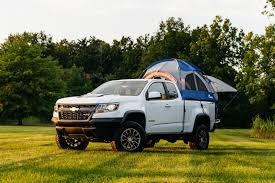 Pop Up Camper Shells For Pickup Trucks Camping In The Back Of A ...