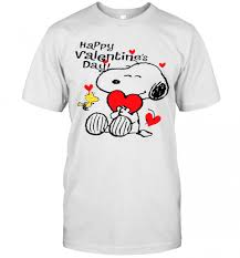 Whether it's for yourself and your significant other, or a gift, let one hour tees take care of the entire process. Snoopy Hug Heart And Woodstock Happy Valentines Day T Shirt Trend T Shirt Store Online