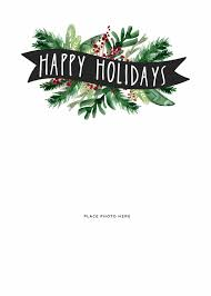 Happy Holiday Card Templates Make Your Own Photo Christmas Cards For Free Somewhat