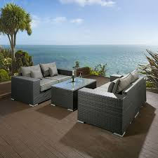 durable grey rattan garden furniture of your house