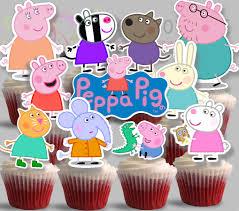 Peppa Pig Cupcakes Cupcake Toppers Pinky 2 128270zoom Nz Asda