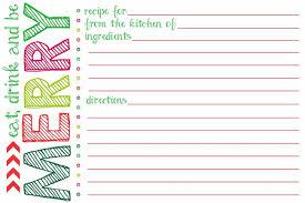 printable blank recipe cards free printable christmas recipe cards yolarcinetonic bgbc us