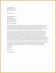 Best Ideas Of Inventory Associate Cover Letter On Sample Resume