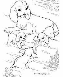 Thousands of free printable dogs coloring pages for kids! Coloring Pages Of Dogs