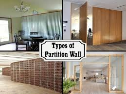Low Wall Partition Design Different Types Of Partition Wall That Are Being Commonly
