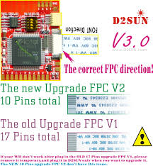 d2sun universal 6 wires modchip for all nintendo wii the new 7 wires install diagram for d2sun v3 02 3 03