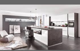 nobilia Küche dunkel grauer Boden