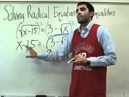 algebra 2 radical equations you