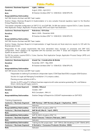 2 - Sap Architect Resume