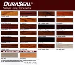 wood floor stain. Dura Seal Hardwood Stain Color Chart \u0026 Swatches Wood Floor O