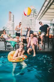 Brandon gay michael party pool