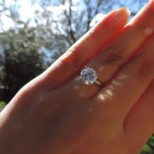 pictures of engagement rings on hands.  Engagement A Sunlit Selfie Of A Roundcut Engagement Ring To Pictures Of Engagement Rings On Hands N