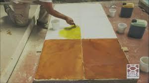 Brickform Acid Stain Color Chart Acid Stain Concrete