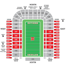 Rutgers Stadium Seating Chart Rutgers Football Seating Chart Elcho Table
