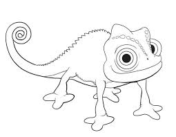 Small Picture Tangled Coloring Pages Print Color Craft