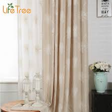 linen curtains for living room flowers embroidery window ds height 280cm custom made