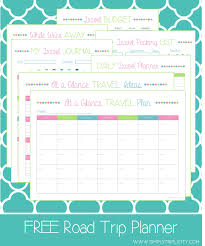 Road Trip Budget Template Travel Trip Planner Route Usa App European Road Free