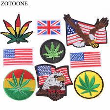 <b>ZOTOONE</b> Iron on <b>American</b> Flag <b>Patches</b> for Clothes DIY Applique ...
