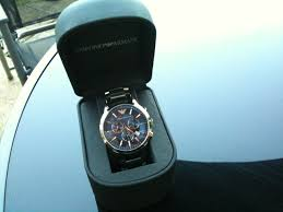 "men s emporio armani chronograph watch ar2448 watch shop comâ""¢ i liked this watch from the moment i saw it and i guess if you re reading this then you do too i was looking for a general"