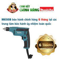 Máy khoan cầm tay mini,Máy khoan điện cầm tay gia đình,Máy khoan sắt thép  gỗ.Máy khoan Makita chính hãng m6500b 6.5mm.