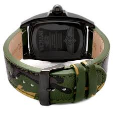 watches men s lupah black dial green camouflage genuine leather 1026 invicta watches men s lupah black dial green camouflage genuine leather 1026