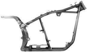 kraft tech softail stock frame harley evo evolution chopper bobber