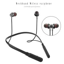 BT <b>M8</b> Neckband <b>Wireless Bluetooth</b> Earphones Magnetic Bass ...