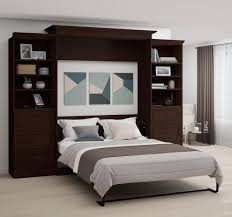 queen wall bed kit espresso