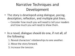 the narrative essay the narrative the writer evokes the senses to  4 narrative techniques