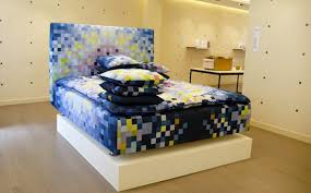 bed sheet designing pixel bed sheets interior design ideas