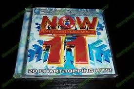 20 Chart Music Details About Now 11 Cd Thats What I Call Music 20 Chart Topping Hits Coldplay Shakira Creed