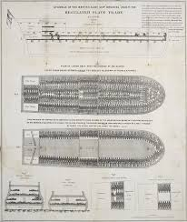 transatlantic slave trade proof school  stowage of the british slave ship brookes under the regulated slave trade act
