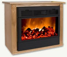 Heat Surge RollnGlow ReviewAmish Electric Fireplace