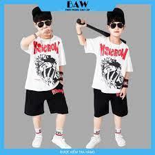 Set Đồ Bé Trai phong cách hàn quốc, thời trang trẻ em thương hiệu BAW mã 85