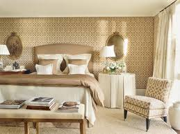 Nice Wallpapers For Bedrooms White Table Lamp On The Desk Fabric Wallpaper Bedroom With White