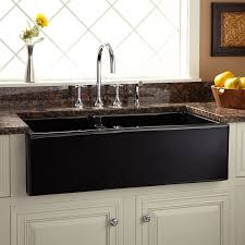 Black Apron Front Kitchen Sink Cottage Style Bathroom Medicine Cabinets Tags Farmhouse Style