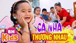 Cả Nhà Thương Nhau ♫ Nhạc Thiếu Nhi Bé MinChu ✿ Thần Đồng Âm Nhạc Nhí Việt  Nam - YouTube